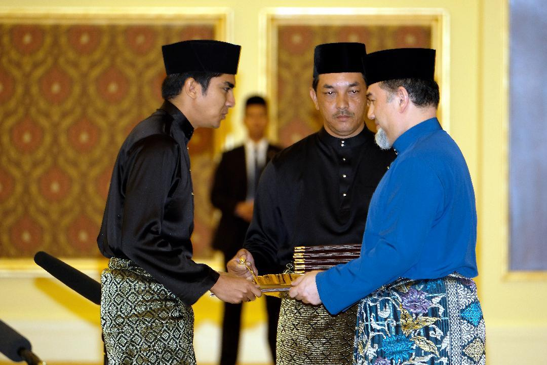 Bộ trưởng trẻ nhất,Bộ trưởng Thanh niên và Thể thao,Malaysia