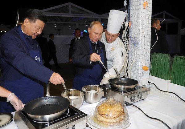 Tổng thống Nga,Chủ tịch Trung Quốc,Putin,Tập Cận Bình