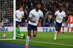 Rashford lập công, tuyển Anh thắng giải tỏa