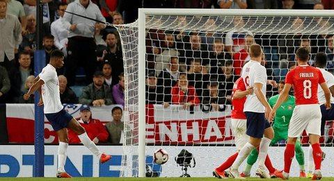 Anh 1-0 Thụy Sĩ