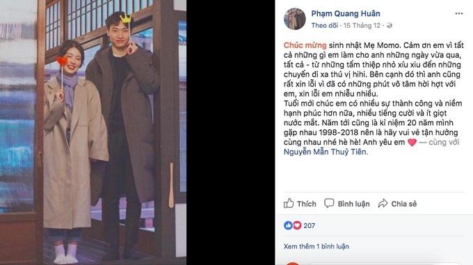 Hot girl Mẫn Tiên và chuyện tình ngọt ngào bên người yêu điển trai