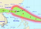 Siêu bão Mangkhut di chuyển nhanh và mạnh, thẳng tiến biển Đông