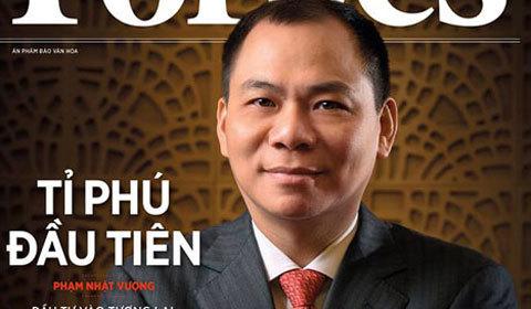 chứng khoán,VN-Index,Phạm Nhật Vượng,tỷ phú USD,Vingroup