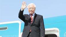 Tổng bí thư kết thúc tốt đẹp chuyến thăm chính thức Nga và Hungary
