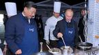 Xem Tổng thống Putin thi nấu ăn với ông Tập Cận Bình