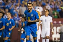 Neymar châm ngòi, Brazil thắng tưng bừng