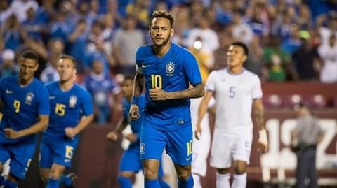 Brazil 5-0 El Salvador