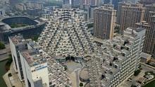 Ngắm tòa chung cư như kim tự tháp