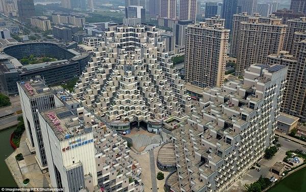chung cư,kim tự tháp,Trung Quốc,cư dân mạng