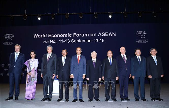 diễn đàn kinh tế Asean,công nghệ 4.0,Hội nghị WEF ASEAN