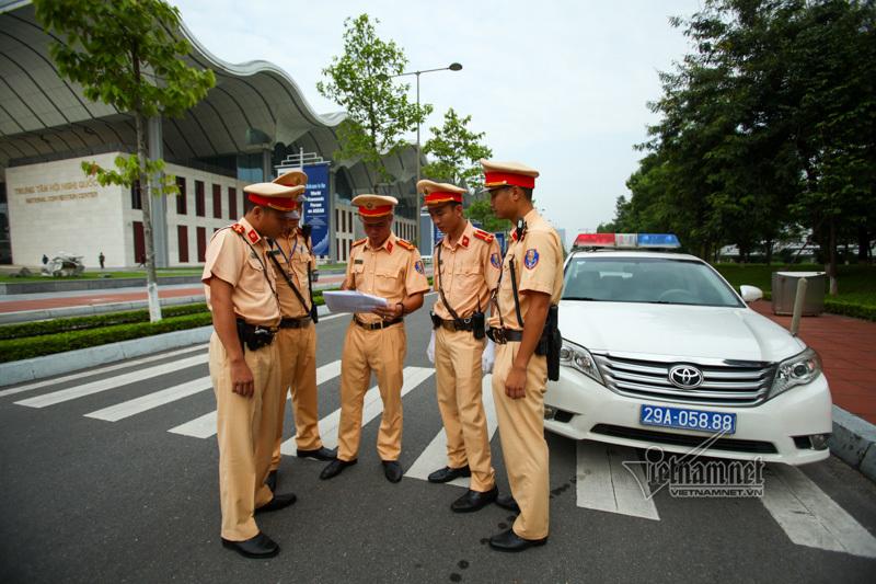 CSGT,WEF ASEAN 2018,cảnh sát giao thông