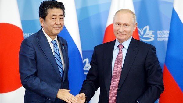 Putin,Nga,Nhật,Shinzo Abe,hiệp ước hòa bình