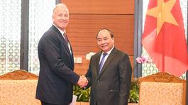 Thủ tướng tiếp lãnh đạo các tập đoàn Carlsberg, GE Global