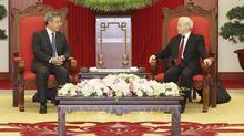 Tổng bí thư tiếp Phó Thủ tướng Quốc vụ viện Trung Quốc