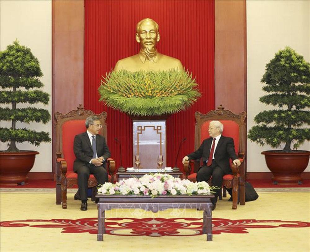 Tổng bí thư Nguyễn Phú Trọng,Nguyễn Phú Trọng,Việt-Trung,quan hệ Việt-Trung