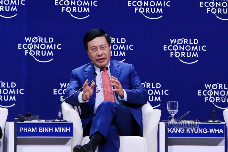 WEF,ASEAN,hội nghị WEF ASEAN,diễn đàn kinh tế thế giới,cách mạng 4.0,Phó Thủ tướng Phạm Bình Minh