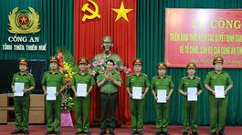 Bộ trưởng Công an bổ nhiệm nhân sự công an 3 tỉnh