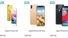 Giá dự kiến iPhone Xr, iPhone Xs và iPhone Xs Max tại Việt Nam