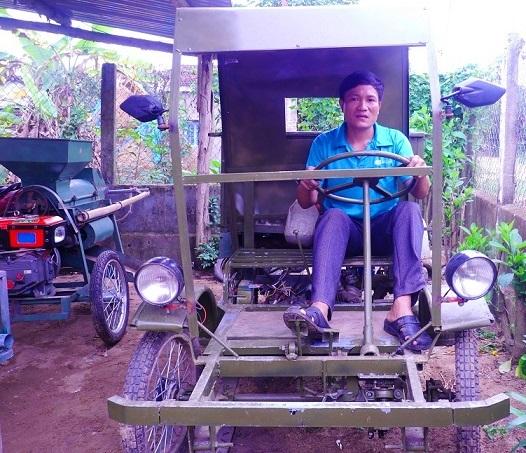 Chỉ học hết lớp 5, 'vua' sáng chế sở hữu 6 sáng chế máy nông nghiệp