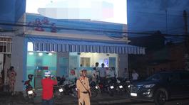 Truy bắt kẻ dùng súng cướp ngân hàng ở Tiền Giang