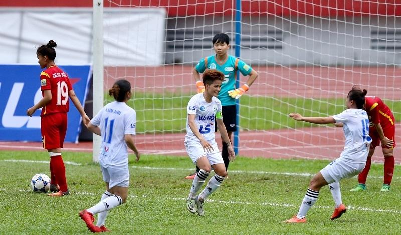 Giải nữ VĐQG – Cúp Thái Sơn Bắc 2018: TP.HCM I rơi hạng 4