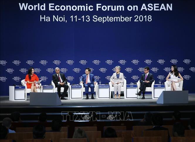 diễn đàn kinh tế Asean,công nghệ 4.0,Hội nghị WEF ASEAN,TPP,CPTPP