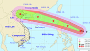 Hai kịch bản siêu bão Mangkhut