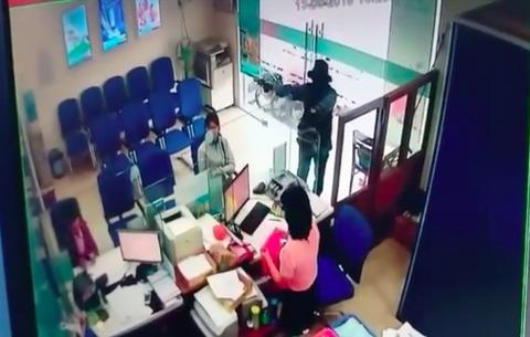 cướp ngân hàng ở Tiền Giang