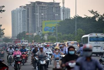 Nam Sài Gòn thoát kẹt xe nhờ con đường 9.430 tỷ