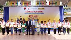 120 học bổng thắp sáng tương lai cho học sinh Cao Bằng