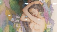Hoạ sĩ 70 tuổi vẽ nhiều tranh khỏa thân nhưng triển lãm đúng một bức
