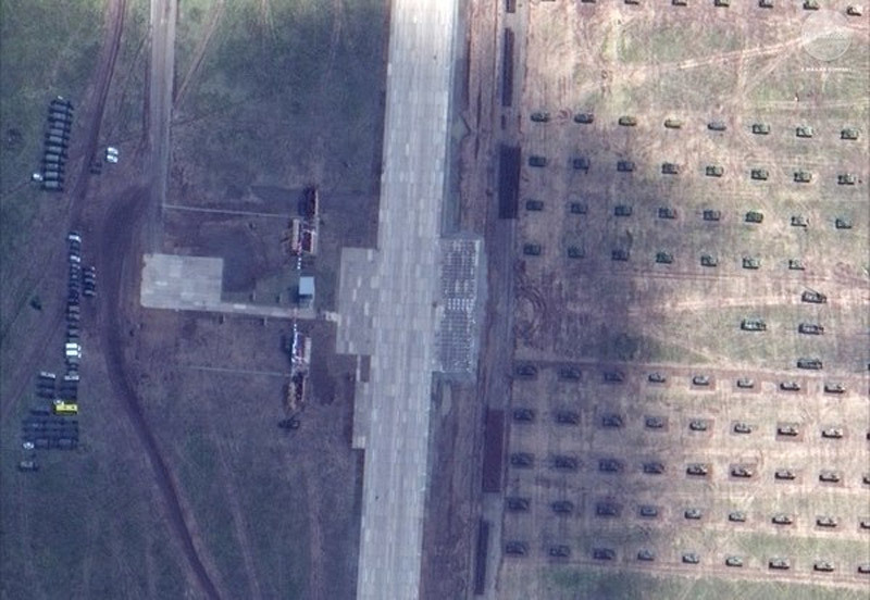Hình ảnh vệ tinh phơi bày quy mô thật cuộc tập trận Nga