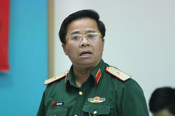 Thiếu tướng Ngô Quý Đức