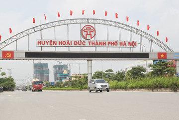 Phó Thủ tướng chỉ đạo thanh tra đột xuất về đất đai ở Hoài Đức, Hà Nội