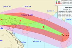 Siêu bão Mangkhut giật trên cấp 17 vào biển Đông sớm hơn dự kiến