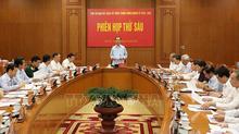 Sửa đổi, bổ sung tổ chức bộ máy Ban Nội chính Trung ương