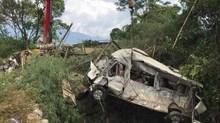 Tai nạn 13 người chết ở Lai Châu: Tài xế đổ dốc sai kỹ thuật