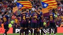 """Messi """"tịt ngòi"""", Barca thắng hú vía trước Sociedad"""