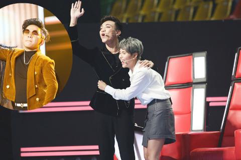 Khoảnh khắc Soobin Hoàng Sơn và Vũ Cát Tường bất ngờ vì bị chặn