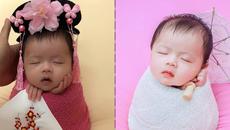 Cô bé 31 ngày tuôi đã hạ gục triệu trái tim vì khoảnh khắc ngủ cực đáng yêu