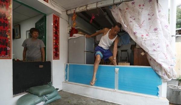 bão Mangkhut tấn công Hong Kong - 03
