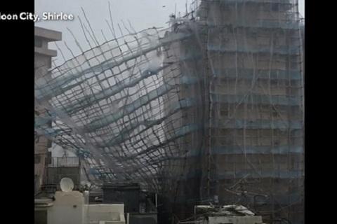 siêu bão Mangkhut tấn công Macau
