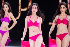 Top 25 Hoa hậu Việt Nam 2018 bốc lửa với phần thi bikini