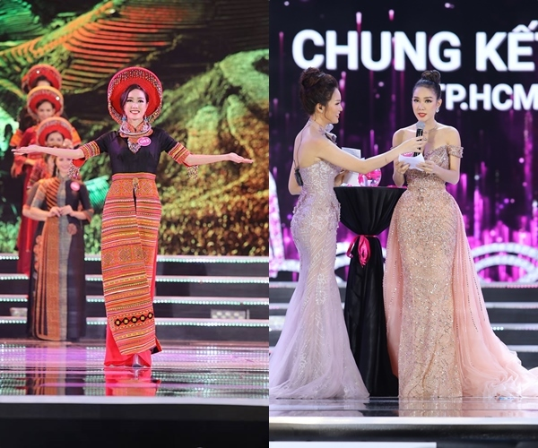 Vẻ đẹp nóng bỏng của Top 5 Hoa hậu Việt Nam 2018