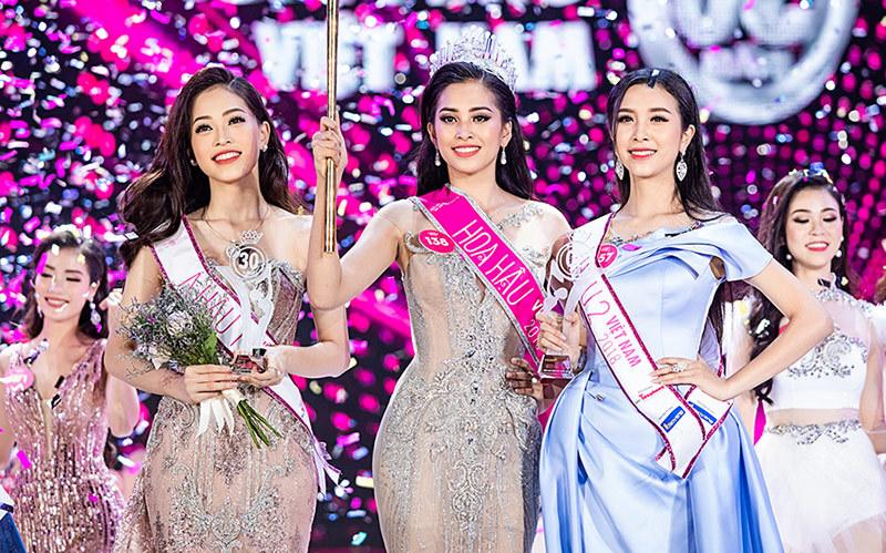 Nữ sinh 18 tuổi Trần Tiểu Vy đăng quang Hoa hậu Việt Nam 2018