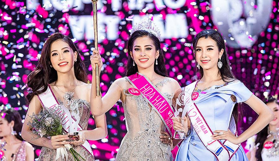 Trần Tiểu Vy đăng quang Hoa hậu Việt Nam 2018 - VietNamNet