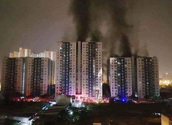 cháy chung cư Carina Plaza,quy hoạch xây dựng,phòng cháy chữa cháy chung cư,Luật Kinh doanh Bất động sản