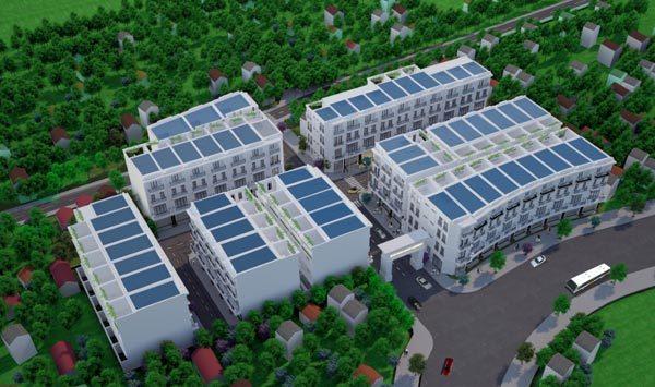 Ra mắt nhà phố thương mại đẳng cấp ở Hải Phòng