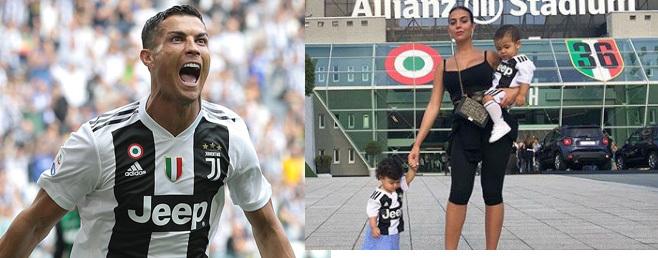 Ronaldo khai hỏa Juventus, bạn gái khoe gì với thiên hạ?