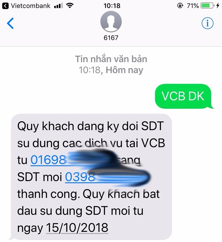 Chuyển đổi mã mạng,Chuyển đổi SIM 11 số,Viettel,VinaPhone,MobiFone,Ngân hàng,Vietcombank,BIDV,Vietinbank